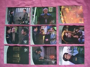 Babylon 5 Season 5 X9 River of Souls chase cards Fleer/SkyBox 1998 VFN
