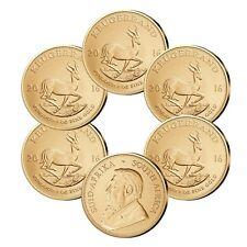 Krügerrand Gold 1 oz Investmentpaket 6 Stück Südafrika 2018 Goldmünze 1 Unze