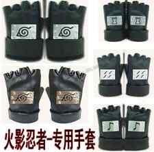 Anime Naruto Gloves Anbu KAKASHI NINJA Cosplay Accessories Collection One Size