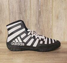 Adidas Adizero Varner Zebra Stripe Sports Wrestling Shoes Mens Size 9 New
