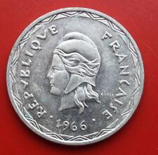 FRANCE-New Hebrides: 100 francs argent 1966, St-BU, KM # 1, #f 1520