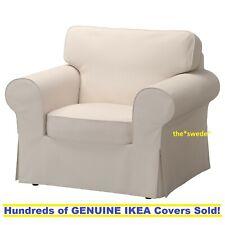 Ikea EKTORP Armchair (Chair) Slipcover Cover LOFALLET BEIGE New! SEALED!