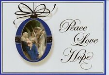 Peace Love Hope Angel Christmas Holiday Greeting Cards