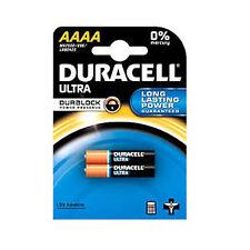 2 Duracell AAAA 1.5V ULTRA Batteries MN2500 E96 Jabra