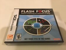 Flash Focus: Vision Training in Minutes a Day (Nintendo DS, 2007) DS NEW0