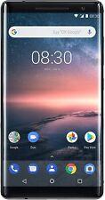 Nokia 8 Sirocco Edition 128GB Smartphone ohne Simlock schwarz - Sehr gut