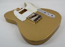 MJT Official Custom Vintage Age Nitro Guitar Body Mark Jenny VTT Firemist Gold