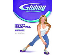 Booty Beautifu  Gliding disc DVD - easy to follow workout,sealed ( no disc's)