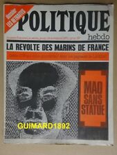 Politique Hebdo n°3 18 novembre 1971 La révolte des marins de France