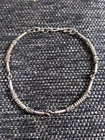 Vintage Sterling Silver Linked Bracelet