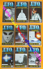 9 VHS U.F.O. UFO segreto di stato le prove intrusi WINNERS COLUMBIA(F118) no dvd