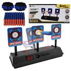 43pc Kit Electronic Target, 40 Bullet Darts for Foam Dart Guns, 2 Wristbands