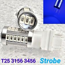 Strobe T25 3156 3456 33 samsung LED Blue Bulb Reverse Backup Light M1 For Ford M