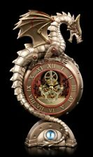 Steampunk Horloge de table - Oeil de dragon - VERONESE Montre Stulpen Dragon