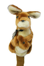 450 cc Deluxe Golf Club Wood Long Head Cover, KANGAROO, Unique  & Best Gift