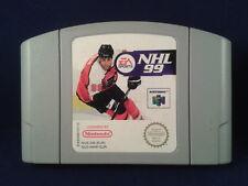 JUEGO NINTENDO 64 NHL 99 PAL SOLO CARTUCHO N64