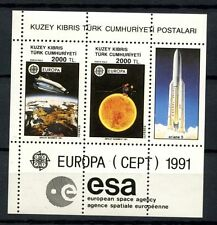 Turkish Cypriot Posts 1991 SG#MS306 Europa, Europe In Space MNH M/S #A35819