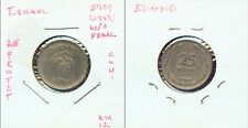 WORLD COINS ISRAEL 1949 25 PRUTOT  (2G523) W/O PEARL Variety, Tough Find!!!