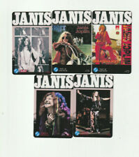 (5) Janis Joplin Rare Phone Cards