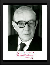 "ALEC GUINNESS STAR WARS 1 AUTOGRAPHED SIGNED A3 FRAMED PRINT 15.7""x11.8"" REPRINT"