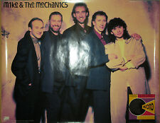 MIKE & MECHANICS Word Of Mouth, Atlantic promo poster, 1991, 24x36, EX, Genesis