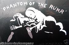 El Fantasma de la cuenca del Ruhr Lancaster Bomber coche calcomanía / etiqueta adhesiva ** ee139 ** bbmf ** Ww2 **