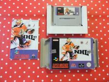 NHL 97 SNES super nintendo in scatola originale con istruzioni