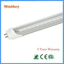Pack of 25 PCS  LED G13 4FT 4 Foot T8 Tube Light Lamp Bulbs 18W 6000K Clear Lens