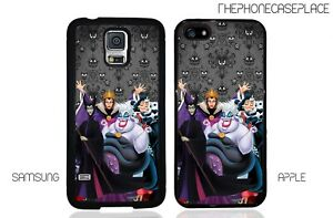 Disney Haunted Evil Villains Phone Case for Apple or Samsung Phone Case Cover