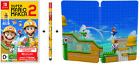 Super Mario Maker 2 Limited Edition, SteelBook (Nintendo Switch) En,Ru,De,Fr,Es