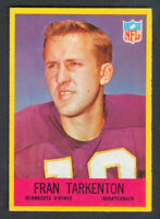 1967 Philadelphia Football FRAN TARKENTON #106 Vikings *NEARMINT*