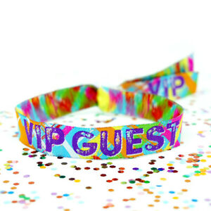 VIP GUEST Festival Wristbands ~ Security VIP Wristbands Festival Lockdown Party