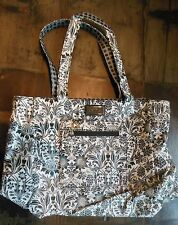 Black & White Bella Russo Reversible Tote-bag