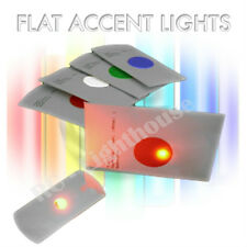 Flat Accent LED Lights - Great for Frisbee Golf Discs and other uses. 1pc  Green