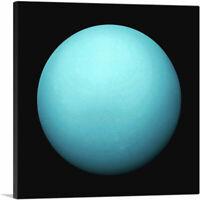 ARTCANVAS Planet Uranus Seventh Planet From the Sun Canvas Art Print