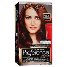 L'Oréal Paris Superior Preference INFINIA Hair Color, #5RA Medium Auburn