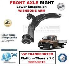 FRONT AXLE RIGHT Wishbone ARM for VW TRANSPORTER Platform/Chassis 2.0 2003-2015