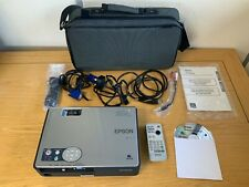 Genuine EPSON EMP-750 LCD Portable Multimedia Projector in Carry Bag