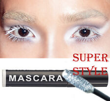 Stargazer WHITE Mascara Long lasting Gothic Emo Goth Costume Party
