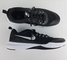 Nike Legend Trainer Mens Training Shoes Blac/Metalic Silvr/Whit 924206 001 Sz 12