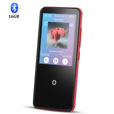 AGPTEK Bluetooth MP3 Player 16GB Touch Screen Lossless Music Versatile Player