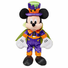 "DISNEY STORE MICKEY MOUSE 2018 HALLOWEEN PLUSH 17"" H COUNT DRACULA COSTUME"