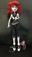 Monster High 1st Edition Operetta Doll Pet Outfit Shoes Earrings Belt