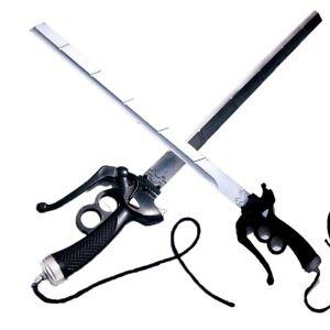 Anime Attack on Titan Cosplay Prop Eren Mikasa Double Knife PU Rubber Anime