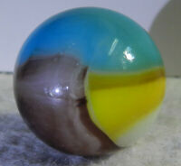 #11261m Vintage Vitro Agate Shooter Marble .93 Inches