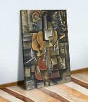 Pablo Picasso violin and grapes MUSIC CANVAS WALL ART ARTWORK FRAMED PRINT
