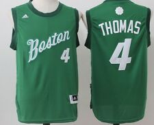 Isaiah Thomas Boston Celtics NBA Adidas Swingman Christmas Jersey Mens Small
