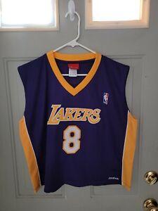 Kobe Bryant Los Angeles Lakers Reebok Stitched VTG Crop Top Jersey - Women's XL