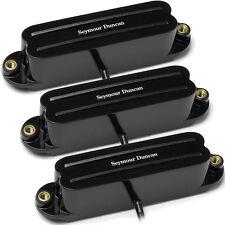 Seymour Duncan SHR-1 Strat Hot Rails set  black N/M/B NEW 2x SHR-1n 1x SHR-1b