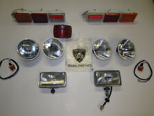 Lamborghini Countach big light set head tail indicator fog lights Carello